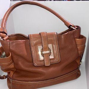 Kate Spade Vintage Leather Hobo tan bag